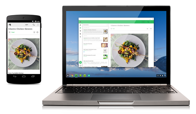 chromebook android app