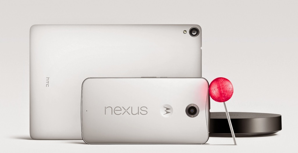 Nexus 6 Nexus 9 Android 5.0 Lollipop Nexus Play