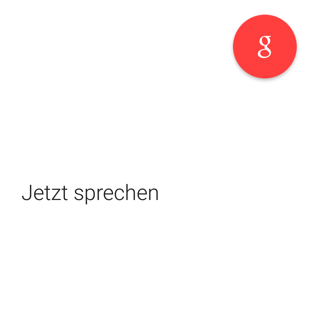 google sprachsuche okay