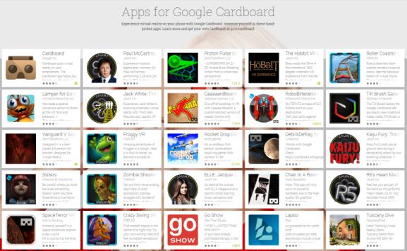 apps für google cardboard