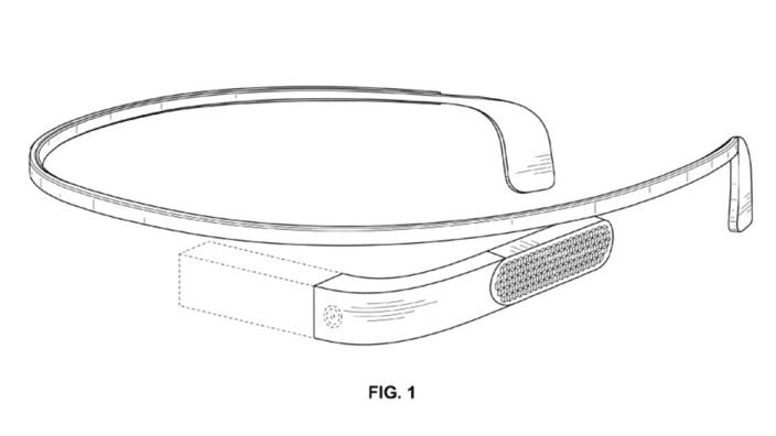 google glass design patent