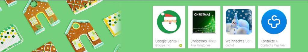 google play apps zu weihnachten