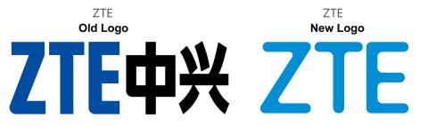 ZTE Logo alt / ZTE Logo neu