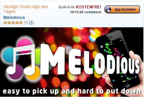 amazon app des tages melodious