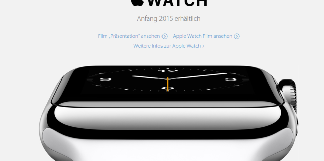 apple watch (c)apple.com