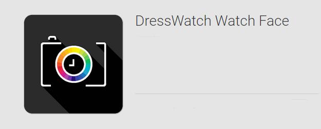 dresswatch watchface