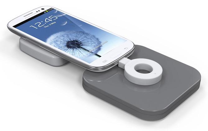 duracell wireless laden adapter