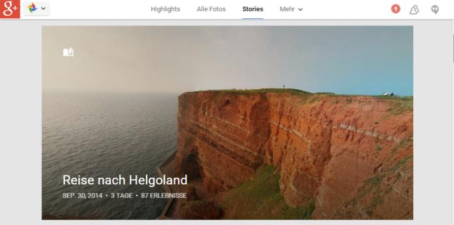 google fotos photos stories