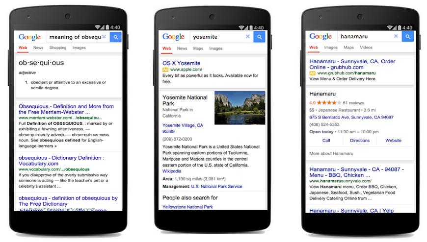 google suche verbindung