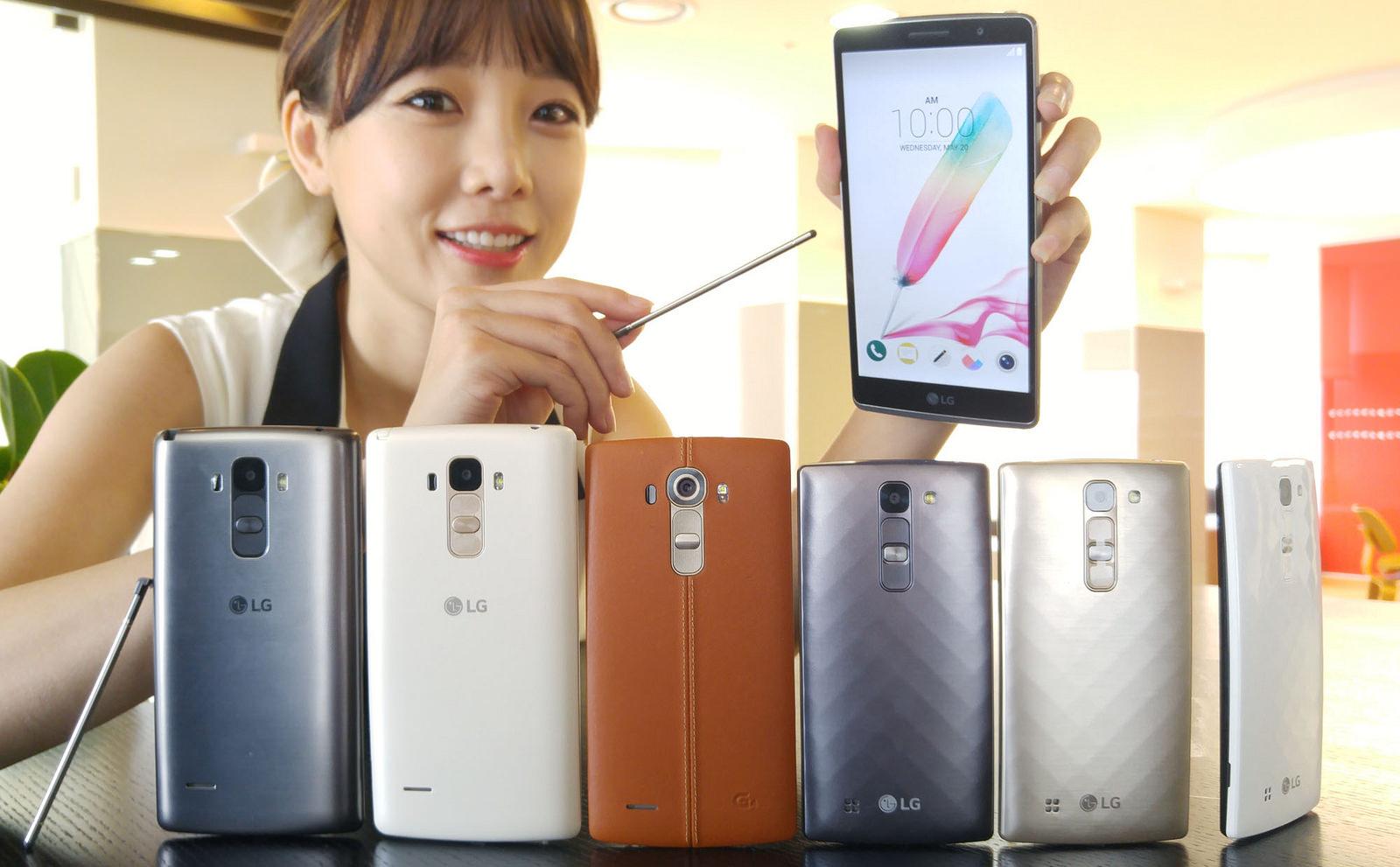 LG G4 Stylus LG G4 LG G4c
