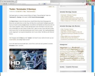 Firefox Lesemodus 2