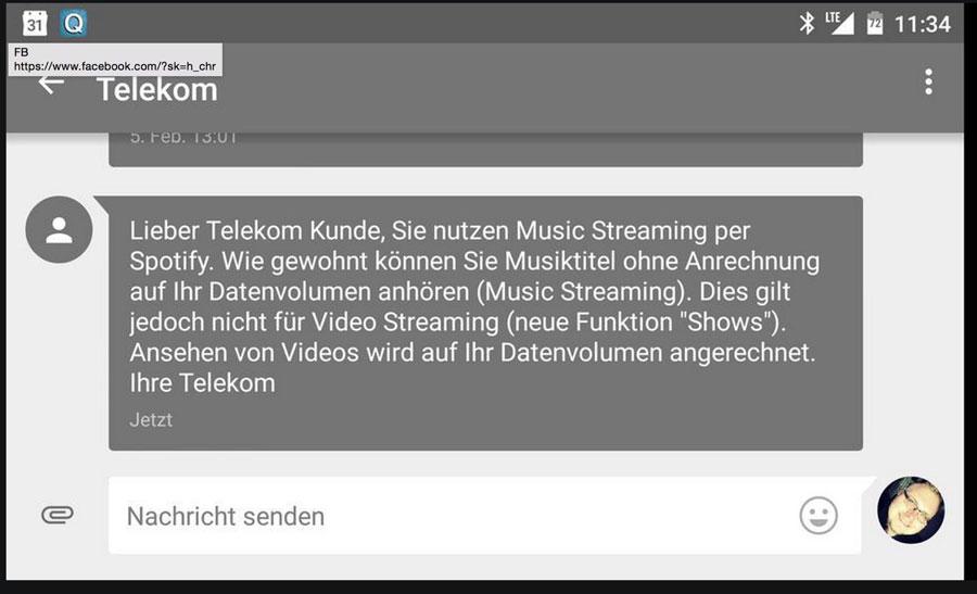 Telekom Spotify videos