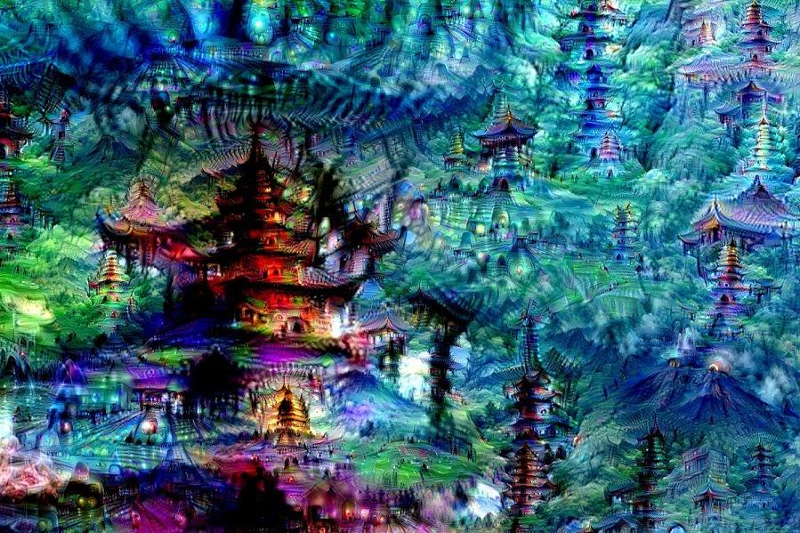 google neural network bilderkennung inceptionism_7