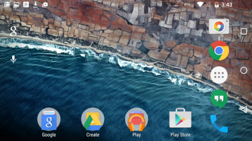 android m feature querformat