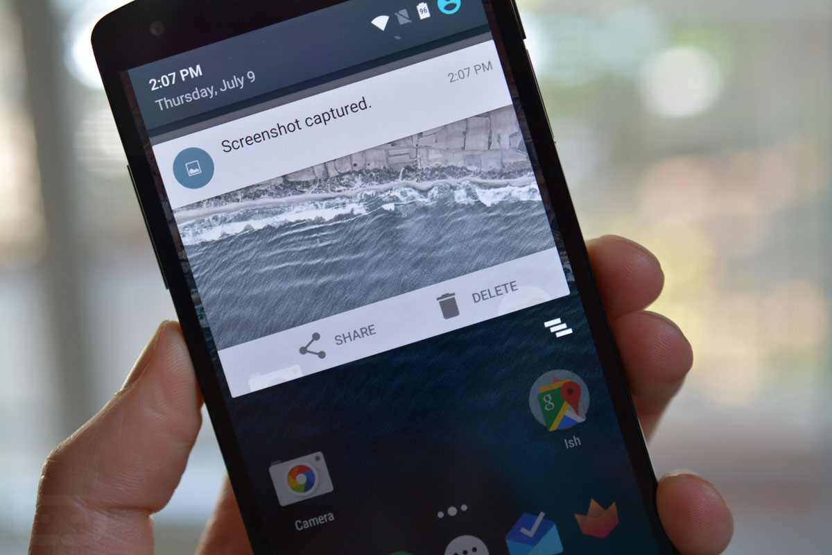 android m feature screenshot