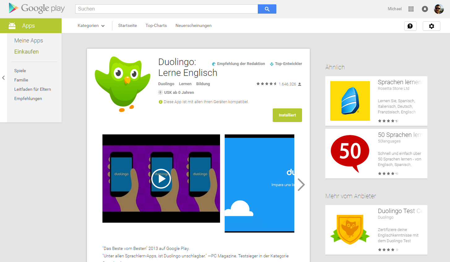 googel play store design update
