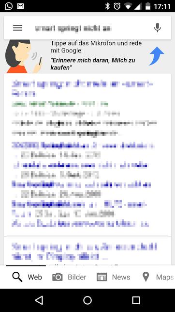 google suche vorschlag