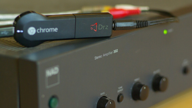 joydrone chromecast adio adapter