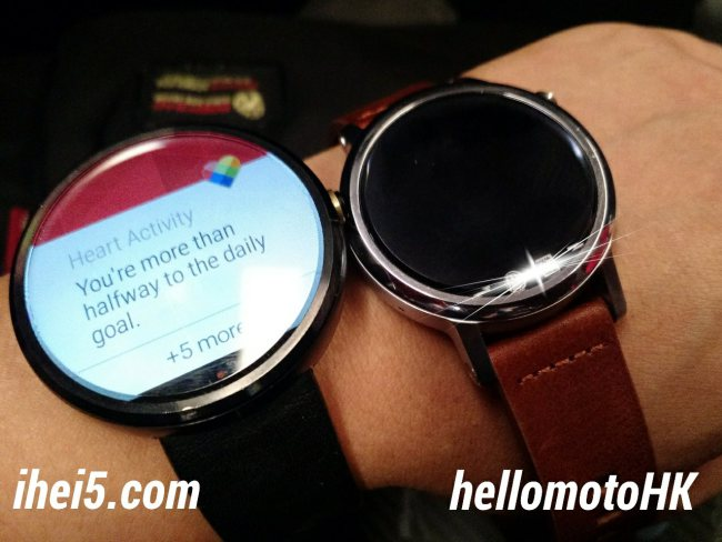 Moto 360 2015 Moto 360 Vergleich