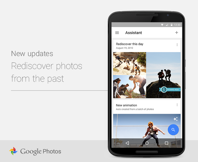 google photos fotos rediscover an diesem tag