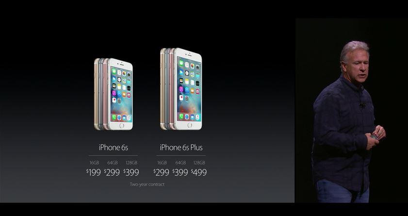apple iphone 6s plus preise