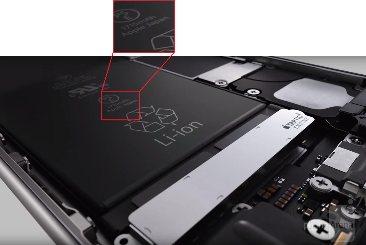 iphone 6s batterie akku kapazitaet