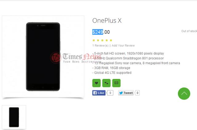 OnePlus X OppoMart Preis