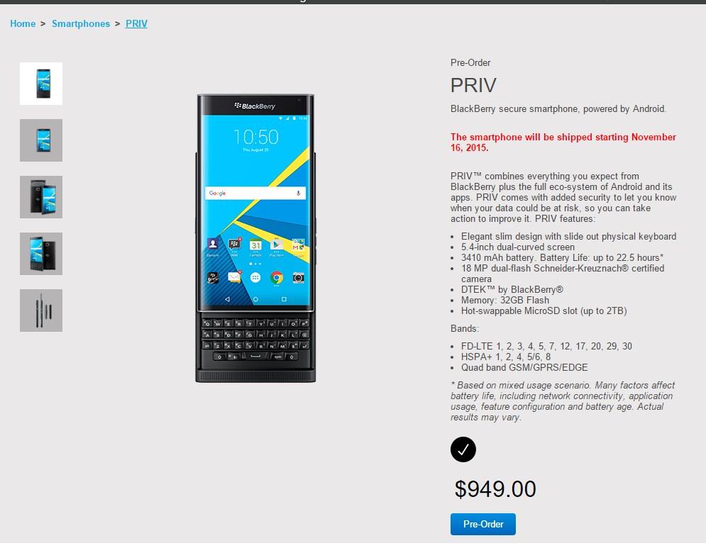 shop blackberry priv preis