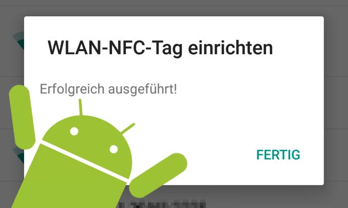 wlan nfc tag einrichten android