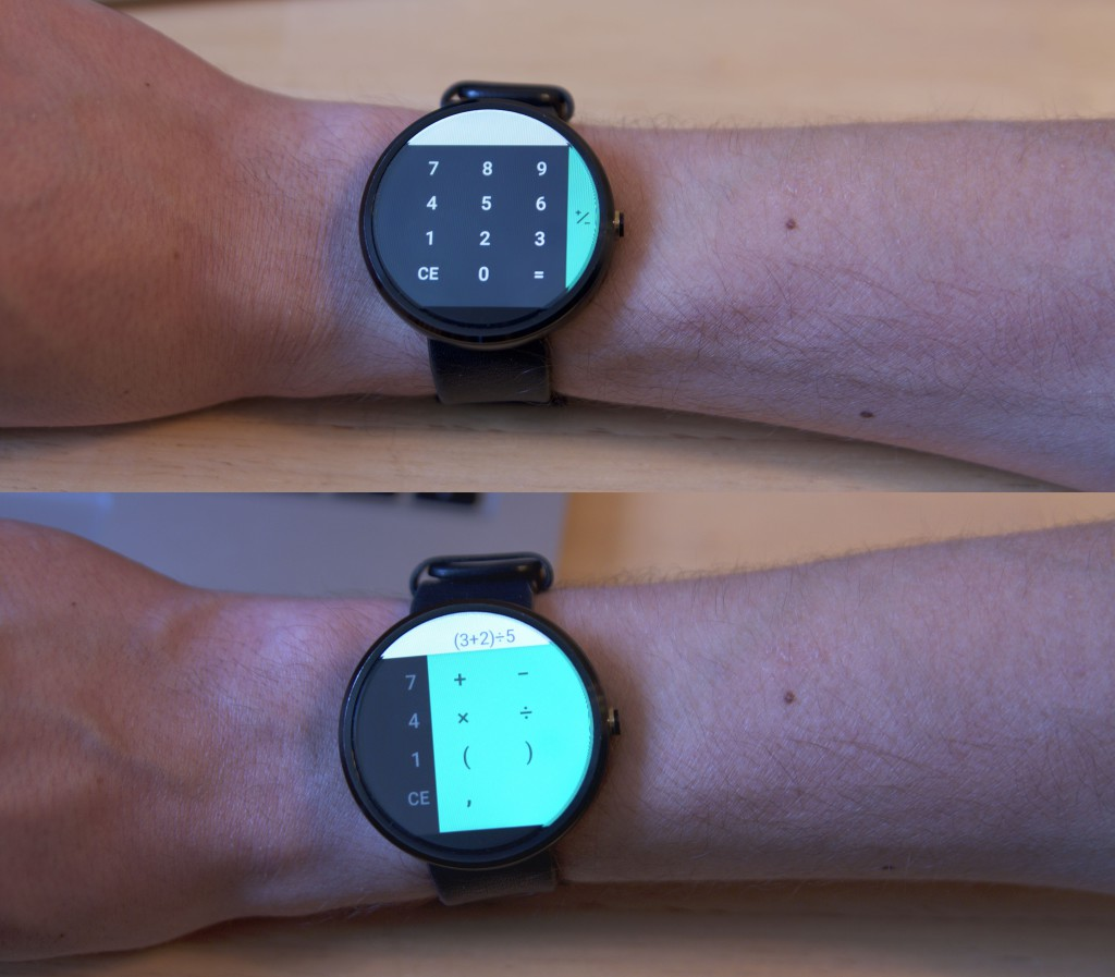 Android Wear Rechner