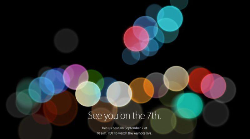 apple event september 07