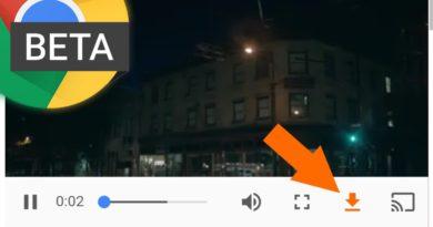 [APK Download] Chrome Beta 55 fügt Download-Button für Videos hinzu