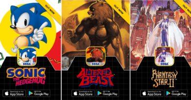 Sega Forever: kostenlose Spiele des Konsolenklassikers ab sofort verfügbar
