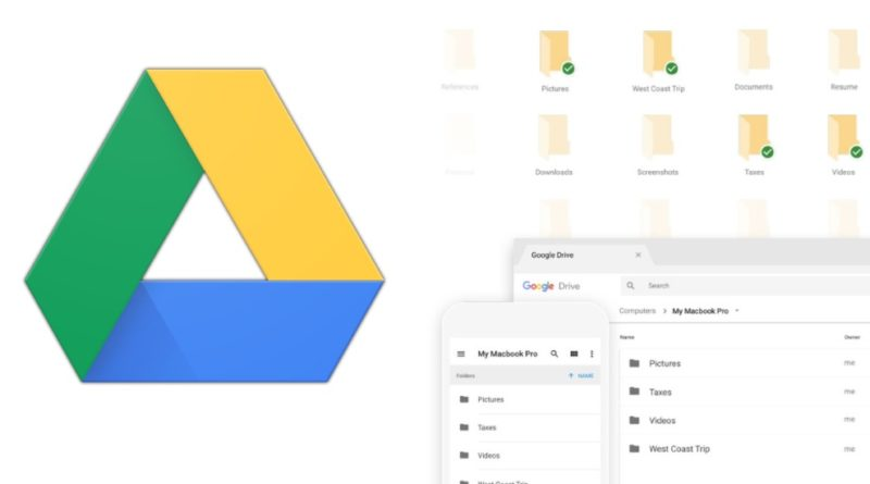 how to get google drive backup sync on mac