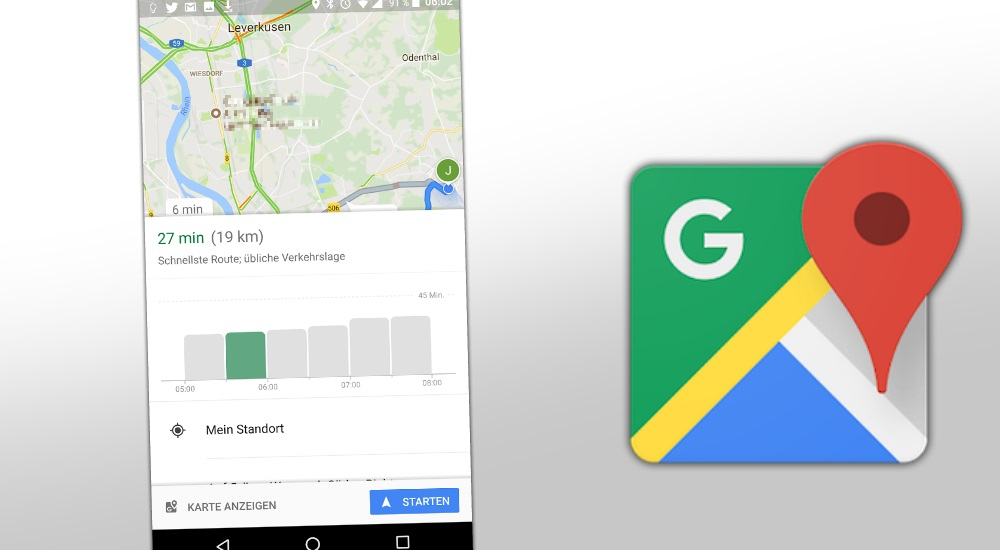 google maps zeigt jetzt sto zeiten f r verkehr an mobilectrl. Black Bedroom Furniture Sets. Home Design Ideas