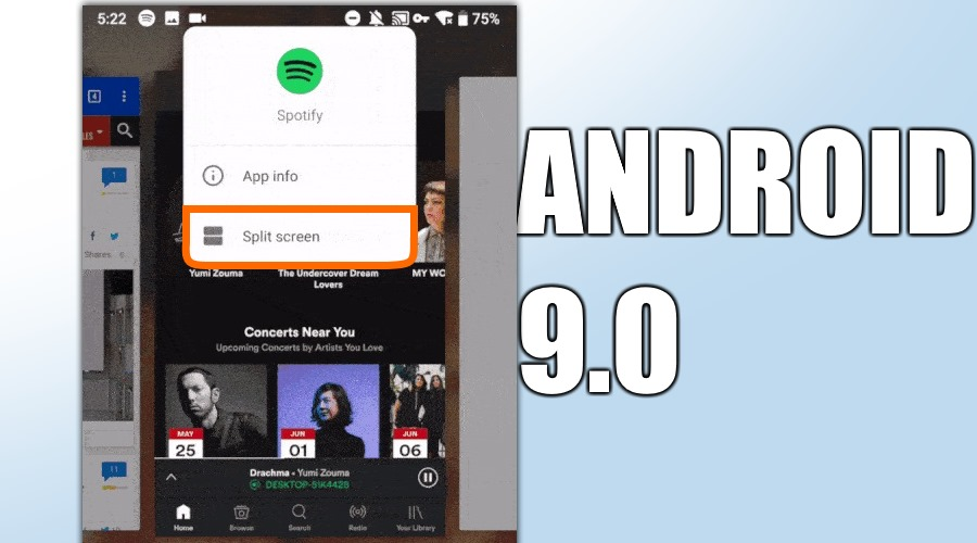 Wie funktioniert Split Screen unter Android 9 0 / Android