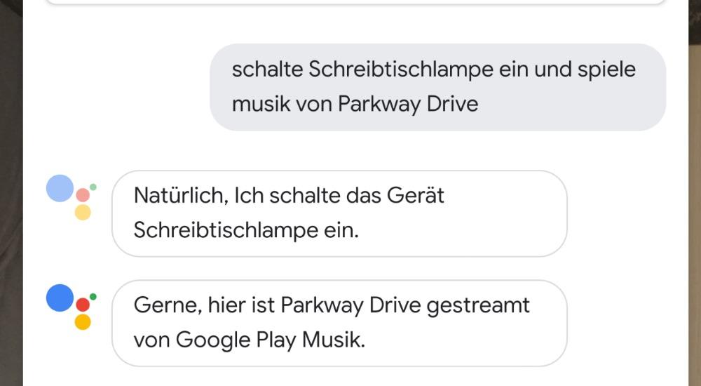 Google Assistant Deutsch